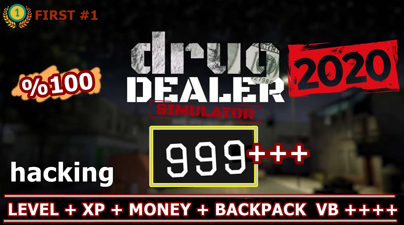 Drug Dealer Simulator Cheat Hack Table (2020) Full İndir