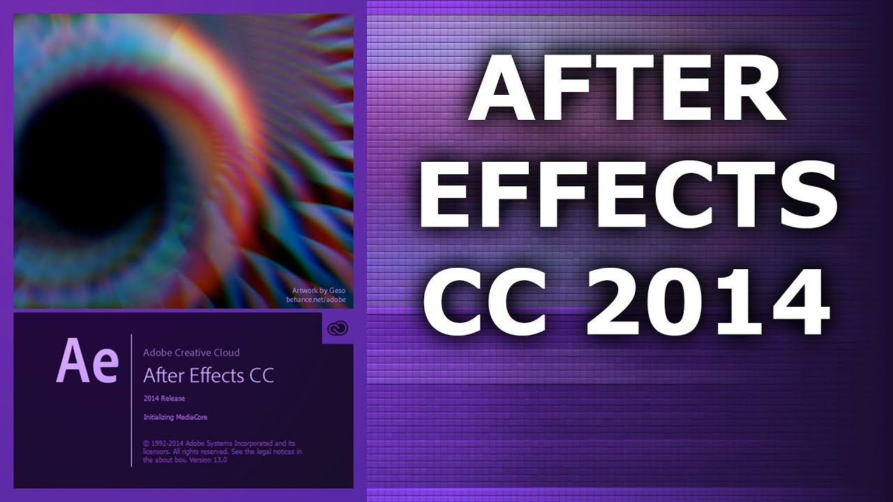 Adobe After Effects CC 2014 Full İndir