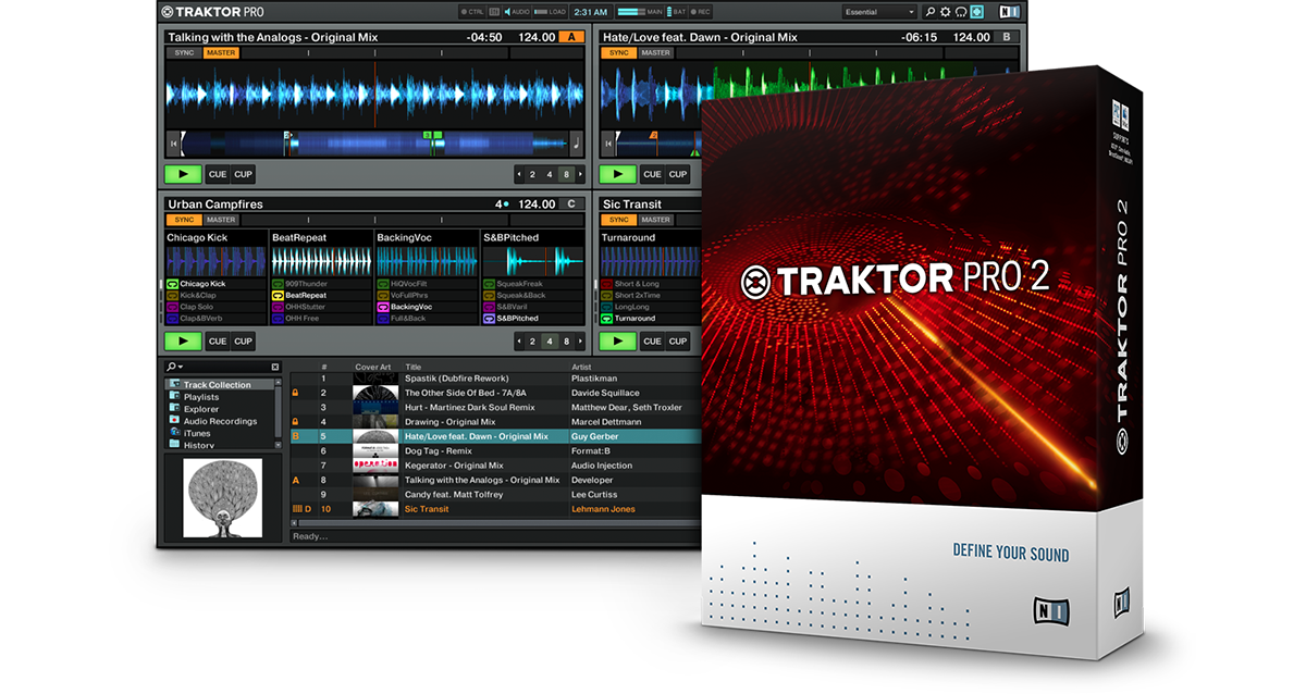 Native Instruments Traktor Pro & Scratch Pro 2 Full İndir