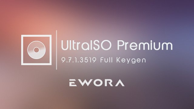 UltraISO Premium Edition 9 Full İndir